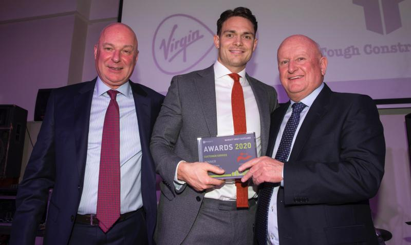 Taylor & Martin receives award for customer service