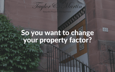 Looking to change your property factor? Here's how